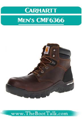 Carhartt Men's CMF6366 Best Work Boots for Flat Feet