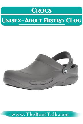 Crocs Unisex-Adult Bistro Graphic Clog Slip Resistant Shoes