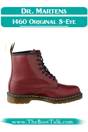 Dr Martens 1460 original 8-eye leather boots for women