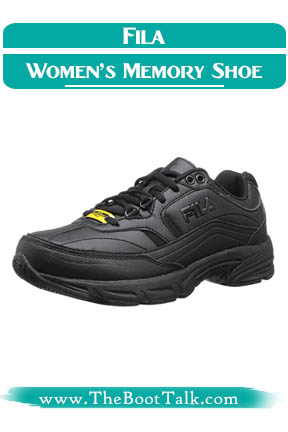 Fila Women's memory workshift best shoes for warehouse work