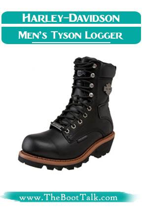 Harley-Davidson Men's Tyson Logger Boots