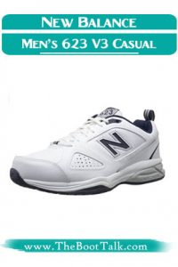 New Balance Men's 623 V3 Casual Comfort Best Shoes for Sciatica