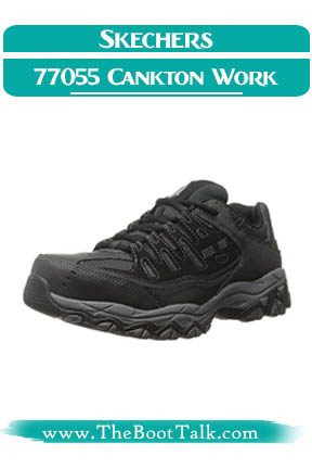 Skechers 77055 Cankton Athletic Shoes for Warehouse Work