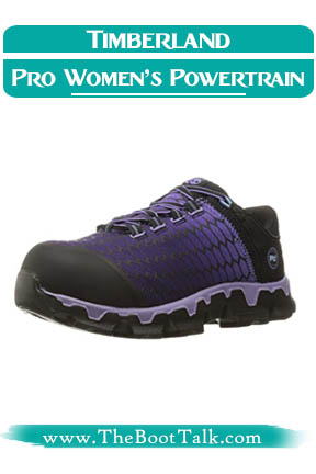Timberland PRO Women's Powertrain Sport Shoes for Warehouse Work