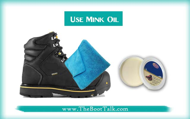 Use Mink Oil