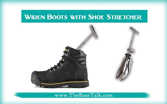 Widen Steel Toe Boots with Shoe Stretcher