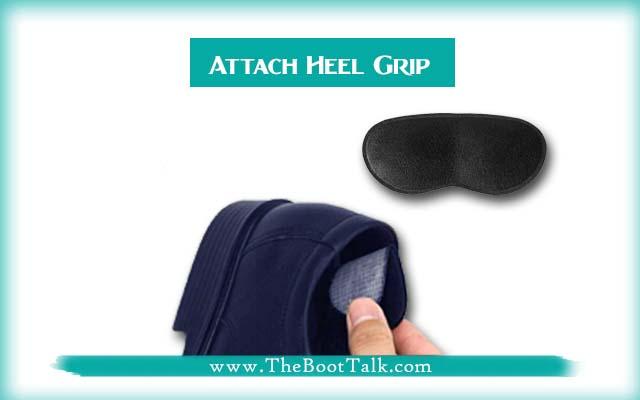 attach heel grip