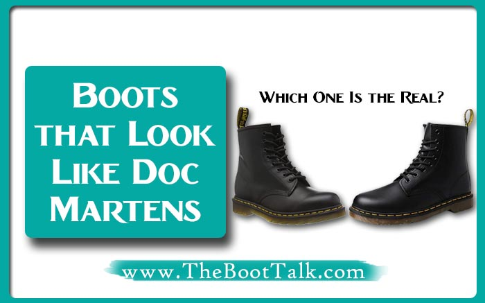 Boots that Look Like Doc Martens
